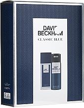 Fragrances, Perfumes, Cosmetics David Beckham Classic Blue - Set (deo/spray/75ml + deo/150ml)