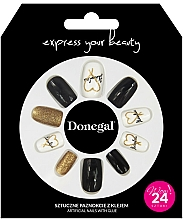 Fragrances, Perfumes, Cosmetics Fake Nails Set with Glue, 3056 - Donegal Express Your Beauty
