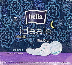 Fragrances, Perfumes, Cosmetics Sanitary Pads Ideale Night StayDrai, 7 pcs - Bella
