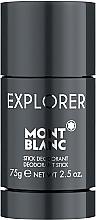 Fragrances, Perfumes, Cosmetics Montblanc Explorer - Deodorant-Stick
