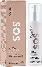 Fragrances, Perfumes, Cosmetics Regenerating Facial Cream - Madara Cosmetics SOS Hydra Recharge Cream