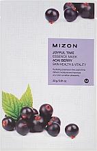 Fragrances, Perfumes, Cosmetics Acai Berry Extract Sheet Mask - Mizon Joyful Time Essence Mask Acai Berry