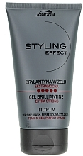 Fragrances, Perfumes, Cosmetics Hair Gel Brilliantine - Joanna Styling Effect Gel Brilliantine