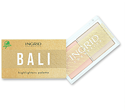 Fragrances, Perfumes, Cosmetics Face Highlighter Palette - Ingrid Cosmetics Bali Highlighters Palette