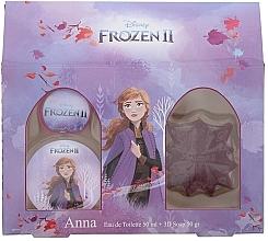 Fragrances, Perfumes, Cosmetics Disney Frozen II Anna Gift Set - Set (edt/50ml + soap/50ml)
