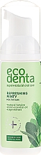 Fragrances, Perfumes, Cosmetics Refreshing Mouthfoam with Mint Oil and Natural Betaine - Ecodenta Mouthwash Refreshing Oral Care Foam