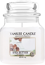 Fragrances, Perfumes, Cosmetics Candle in Glass Jar - Yankee Candle Shea Butter