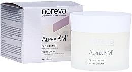 Fragrances, Perfumes, Cosmetics Anti-Wrinkle Night Cream - Noreva Laboratoires Alpha KM Night Cream Corrective Anti-Wrinkle Care