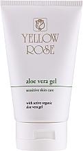 Fragrances, Perfumes, Cosmetics Aloe Vera Face & Body Gel - Yellow Rose Aloe Vera Gel