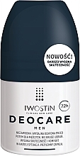 Fragrances, Perfumes, Cosmetics Antiperspirant for Men - Iwostin Deocare Men Roll-On
