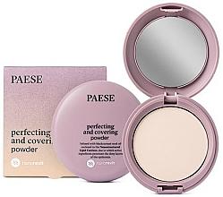 Fragrances, Perfumes, Cosmetics Mattifying Compact Powder - Paese Perfecting & Covering Nanorevit Powder