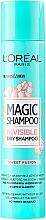 Fragrances, Perfumes, Cosmetics Hair Dry Shampoo - L'Oreal Paris Magic Shampoo Invisible Dry Shampoo Sweet Fusion