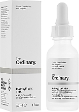 Fragrances, Perfumes, Cosmetics Hyaluronic Acid Peptide Serum - The Ordinary Matrixyl 10% + HA