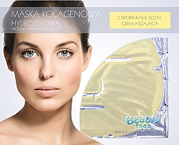Fragrances, Perfumes, Cosmetics Gold Collagen Mask - Beauty Face Collagen Hydrogel Mask