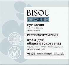 Fragrances, Perfumes, Cosmetics Multivitamin Eye Cream - Bisou AntiAge Bio Eye Cream