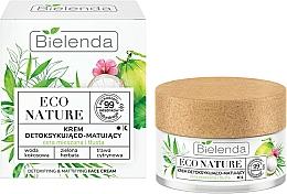 Fragrances, Perfumes, Cosmetics Face Cream - Bielenda Eco Nature Coconut Water Green Tea & Lemongrass Face Cream
