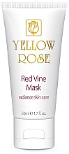 Fragrances, Perfumes, Cosmetics Red Grape Polyphenol Face Mask (tube) - Yellow Rose Red Vine Mask