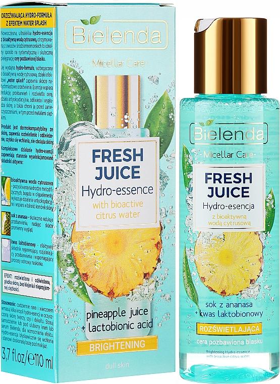 Skin Glowing Hydro Essence - Bielenda Fresh Juice Brightening Hydro Essence Pineapple