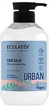 "Fragrances, Perfumes, Cosmetics Hair Balm for All Hair Types ""Coconut & Mulberries"" - Ecolatier Urban Hair Balm"