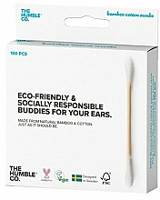 Fragrances, Perfumes, Cosmetics Bamboo Cotton Swabs - The Humble Co. Cotton Swabs White