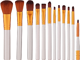 Fragrances, Perfumes, Cosmetics Makeup Brush Set in Case - Fascination