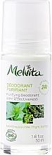 Fragrances, Perfumes, Cosmetics 24H Effectiveness Deodorant - Melvita Body Care Purifyng Deodorant 24 hr Effectiveness