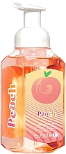 Fragrances, Perfumes, Cosmetics Hand Wash Foam - TasTea Edition Peach Foaming Hand Wash