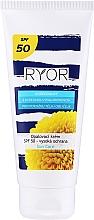 Fragrances, Perfumes, Cosmetics Sun Milk SPF50 - Ryor Sun Lotion SPF 50 Medium Protection