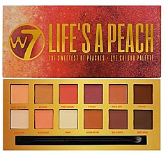 Fragrances, Perfumes, Cosmetics Eyeshadow Palette - W7 Life's A Peach Eyeshadow Palette