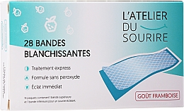 Fragrances, Perfumes, Cosmetics Raspberry Flavored Teeth Whitening Strips - L'Atelier Du Sourire