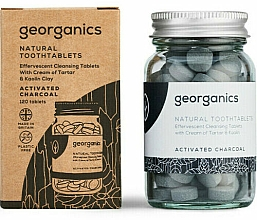 """Fragrances, Perfumes, Cosmetics Tooth Cleansing Tablets """"Activated Charcoal"""" - Georganics Natural Toothtablets Activated Charcoal"""