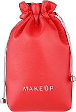 """Fragrances, Perfumes, Cosmetics Makeup Pouch """"Pretty pouch"""", red - Makeup"""
