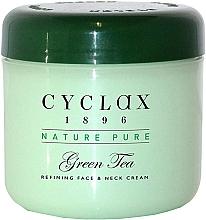 Fragrances, Perfumes, Cosmetics Green Tea Face & Neck Cream - Cyclax Nature Pure Green Tea Face & Neck Cream