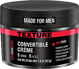 Fragrances, Perfumes, Cosmetics Texturizing Hair Cream - SexyHair Style Convertible Forming Creme