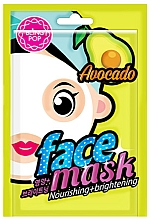 Fragrances, Perfumes, Cosmetics Avocado Face Mask - Bling Pop Avocado Nourishing & Brightening Mask