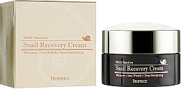 Fragrances, Perfumes, Cosmetics Snail Recovery Cream - Deoproce Snail Recovery Cream