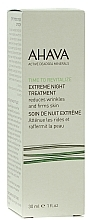 Fragrances, Perfumes, Cosmetics Smoothing & Firming Night Cream - Ahava Time to Revitalize Extreme Night Treatment