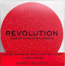 Fragrances, Perfumes, Cosmetics Face Highlighter - Makeup Revolution Shimmer Dust