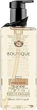 "Fragrances, Perfumes, Cosmetics Hand Liquid Soap ""Oud & Cassis"" - Grace Cole Boutique Oud & Cassis Hand Wash"