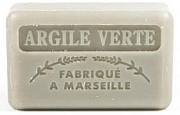 Fragrances, Perfumes, Cosmetics Green Clay Marseilles Soap - Foufour Savonnette Marseillaise Argile Verte
