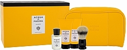 Fragrances, Perfumes, Cosmetics Acqua di Parma Colonia - Set (edc/20ml + sh/cr/40ml + balm/40ml + brush + bag)