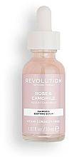 Fragrances, Perfumes, Cosmetics Rose & Chamomile Extracts Serum - Revolution Skincare Rose And Chamomile Serum