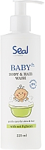 Fragrances, Perfumes, Cosmetics Baby Bath Wash - Seal Cosmetics Baby Body And Hair Wash Gel