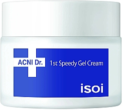 Fragrances, Perfumes, Cosmetics Facial Gel Cream - Isoi Acni Dr. 1st Speedy Gel Cream
