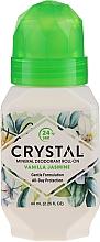 Fragrances, Perfumes, Cosmetics Vanilla and Jasmine Scented Roll-On Deodorant - Crystal Essence Deodorant Roll-On Vanila Jasmine