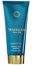 Fragrances, Perfumes, Cosmetics Exfoliator - Mineralium Matte&Clear Exfoliating Scrub