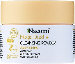 Fragrances, Perfumes, Cosmetics Cleansing Face Powder for Oily Skin - Nacomi Face Cleansing & Acne Fighting Powder Magic Dust