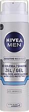 "Fragrances, Perfumes, Cosmetics Shaving Gel ""Repairing"" - Nivea For Men Shaving Gel"