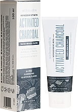Fragrances, Perfumes, Cosmetics Toothpaste - Schmidt's Wondermint Activated Charcoal Toothpaste