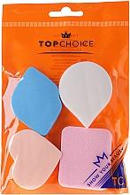Fragrances, Perfumes, Cosmetics Foundation Sponge, 6449, pink-blue - Top Choice